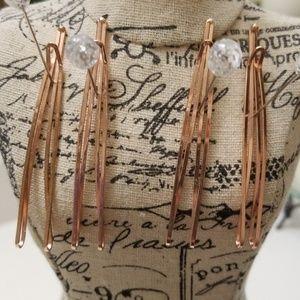 H&M rose gold hair clips